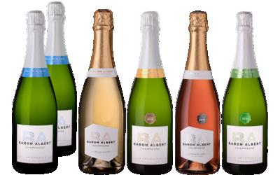 Coffret Repas au Champagne par Baron Albert
