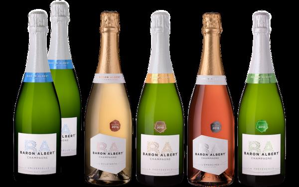 Coffret Un Repas au Champagne par Baron Albert